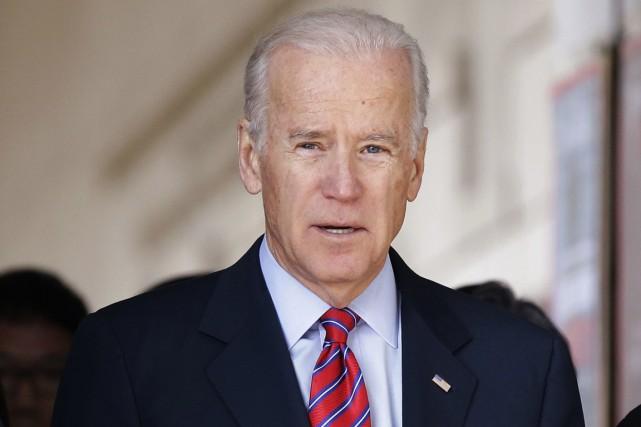Le vice-président américain Joe Biden... (Photo Lee Jin-man, Reuters)