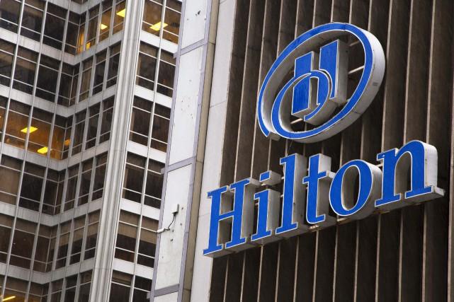 Hilton avait révélé son intention de bâtir un... (Photo ANDREW KELLY, Reuters)