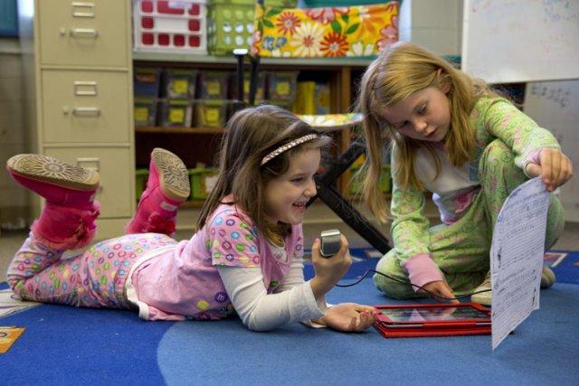 Les enfants qui, à la maternelle, éprouvent plus... (Photo: AP)