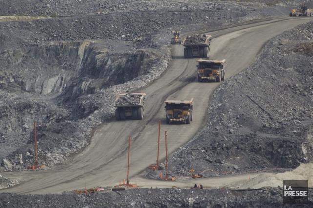 La loi 70 sur les mines a finalement... (Photo: Ivanoh Demers, archives La Presse)