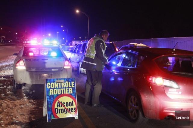 Environ 800 conducteurs ont été interpellés.... (Patrick Woodbury, LeDroit)