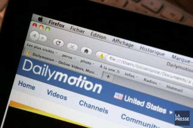 La plateforme Dailymotion concentre 85% de son audience... (Photo Archives La Presse)