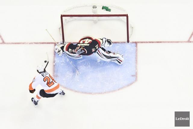 Les Flyers visiteront les Sénateurs pour la deuxième... (Patrick Woodbury, Archives LeDroit)