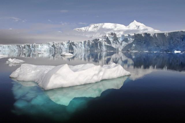 «À l'avenir, les glaciers continueront de fondre même... (Archives AFP)