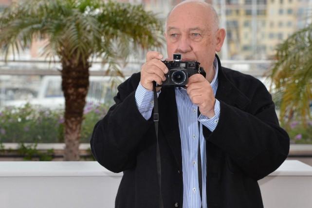 Le photographe et cinéaste Raymond Depardon, au Festival... (Photo: archives AFP)