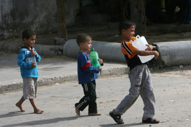La compagnie israélienne Mekorot fournit de l'eau à... (Photo: AFP)