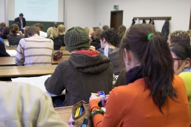 La Presserévélait cette semaine qu'une coalition syndicale étudiante... (PHOTO D'ARCHIVES)