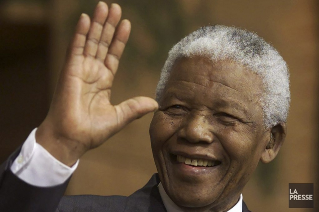 Nelson Mandela... (Photo Shaun Best, archives Reuters)