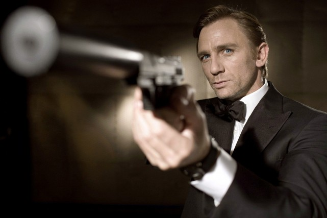 Daniel Craig enfilera de nouveau le costume du... (Photo: archives Reuters)