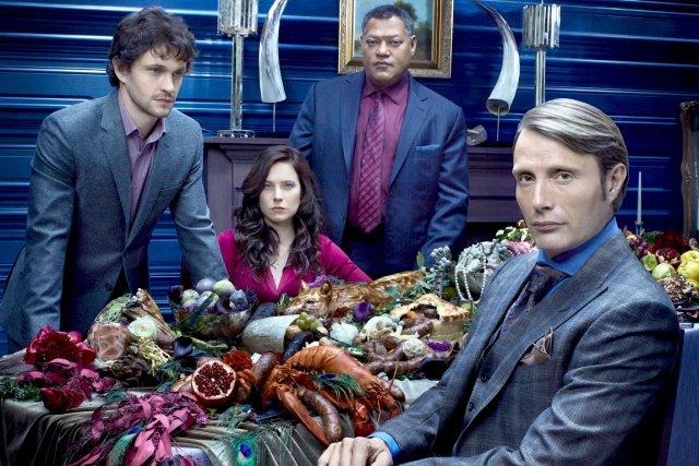 Hugh Dancy, Laurence Fishburne, Caroline Dhavernas et Mads... (Photo fournie par AddikTV)