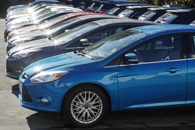Ford Canada a dit avoir vendu un total... (PHOTO CHARLES KRUPA, ASSOCIATED PRESS)