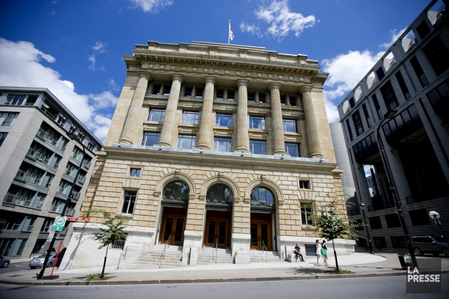 Lacour municipale de Montréal.... (Photo archives La Presse)