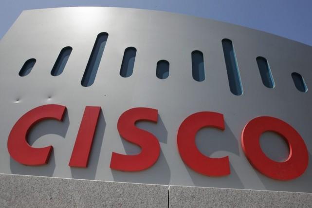 Le chiffre d'affaires de Cisco a reculé de... (Photo AP)