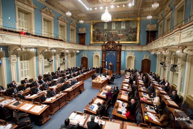 Analyse. Les chefs des trois principaux partis à Québec jouent leur va-tout.... (Photothèque Le Soleil)