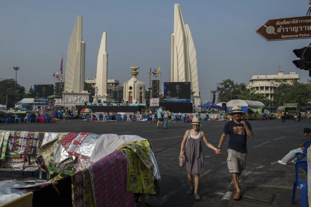 La Thaïlande a attiré quelque 22 millions de... (Photo Philippe Lopez, AFP)