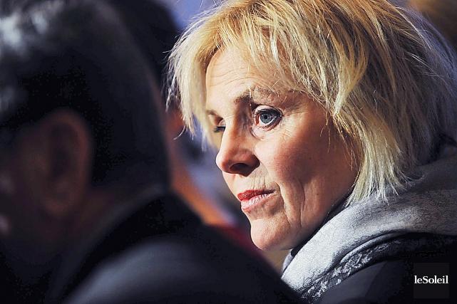 La conseillère municipale Chantal Gilbert... (Photothèque Le Soleil)