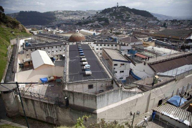 Ce centre de détention accolé à l'une des... (Photo: AP)