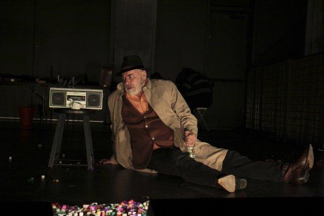 Denis Gravereaux, dans lespectacle Andréï ou le frère... (Photo fournie par Théo Gravereaux)