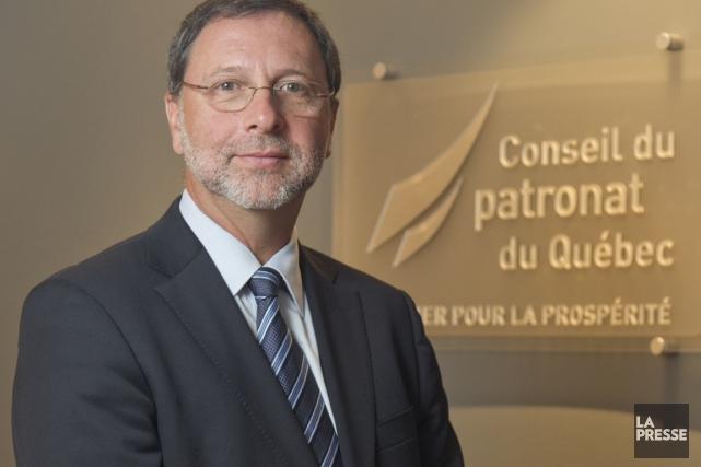 Le président du Conseil du patronat du Québec,... (Photothèque La Presse)