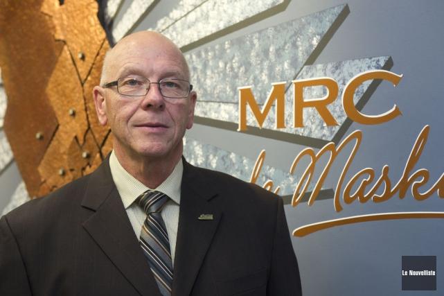 Le maire de Saint-Mathieu-du-Parc, Claude McManus, veut que... (Photo: Stéphane Lessard, Le Nouvelliste)