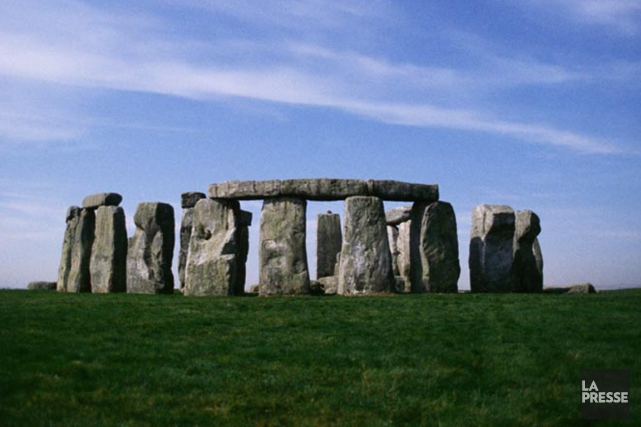 Les mégalithes de Stonehenge.... (PHOTO ARCHIVES LA PRESSE)