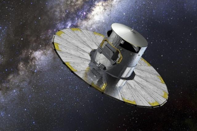 Le satelliteGaia.... (Image AFP)
