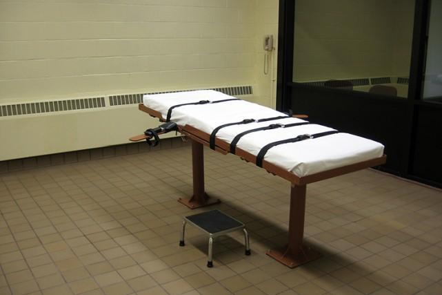 Un condamné à mort qui doit être exécuté mercredi dans le Missouri réclame à la... (Photo: AFP)