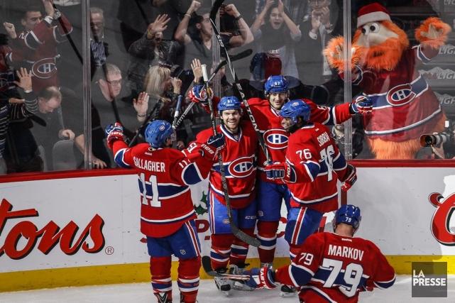 Le Canadien reprend la route vendredi, après avoir profité d'une pause... (Photo Olivier Pontbriand, archives La Presse)