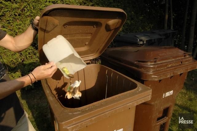 Les matières organiques de Bromont prendront la route... (photo archives La Presse)