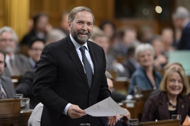 Le chef du NPD, Thomas Mulcair, s'attend à... (Photo: PC)