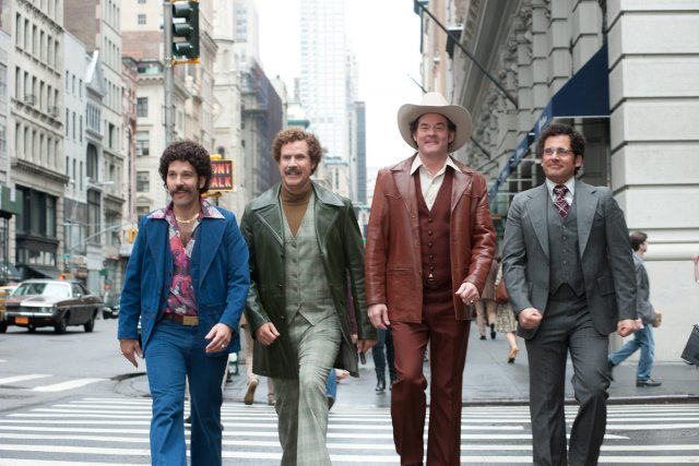 Paul Rudd, Will Ferrell, David Koechner et Steve... (Photo: fournie par Paramount Pictures)
