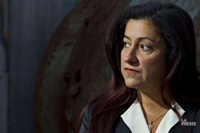 Maria Mourania été expulsée du Bloc, l'automne dernier,... (Photo Olivier Jean, archives La Presse)