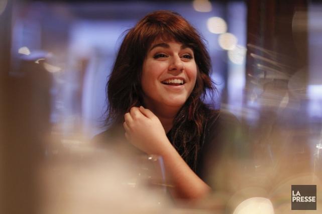 La chanteuse acadienne Lisa Leblanc avendu à 80000... (PHOTO OLIVIER PONTBRIAND, LA PRESSE)