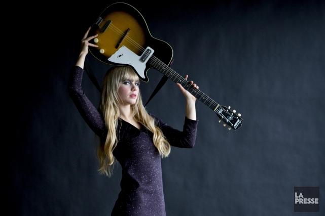 Née à Vancouver, Kandle a 23 ans et s'apprête à lancer son premier album avec... (Photo: Alain Roberge, La Presse)