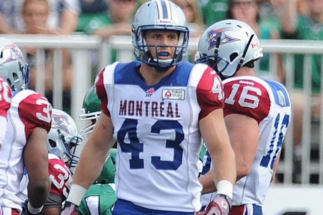 Jonathan Beaulieu-Richard... (Photo: Alouettes de Montréal)