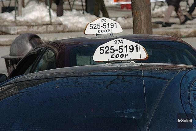 Taxi Coop soutient que Uber est un service... (Photothèque Le Soleil)