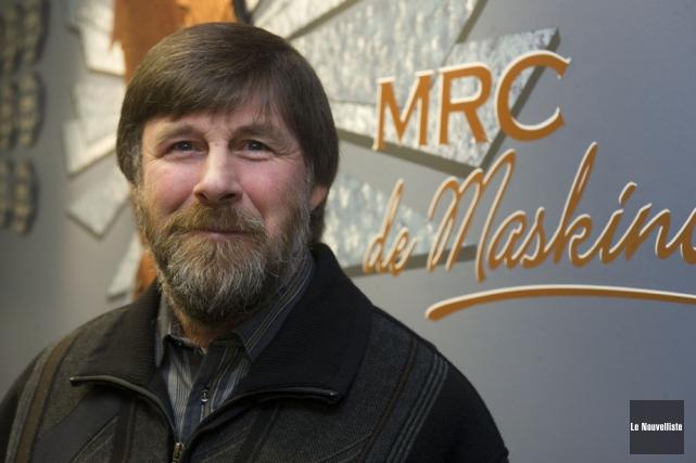 Roger Michaud, maire de Maskinongé.... (Photo: Stéphane Lessard, Le Nouvelliste)