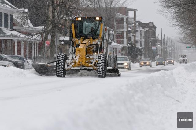 À quand la première vraie tempête de neige?... (Photo: François Gervais, Le Nouvelliste)