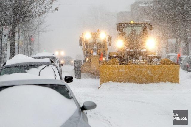 Une première tempête en provenance du sud des... (Photo Robert Skinner, La Presse)
