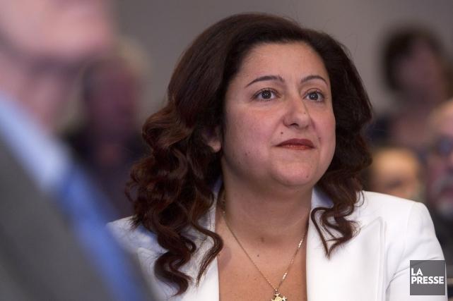 Maria Mourani... (Photo Robert Skinner, archives La Presse)