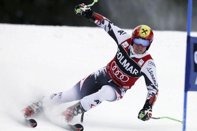 Le skieur Marcel Hirscher représente une des meilleures... (Photo Marco Trovati, AP)