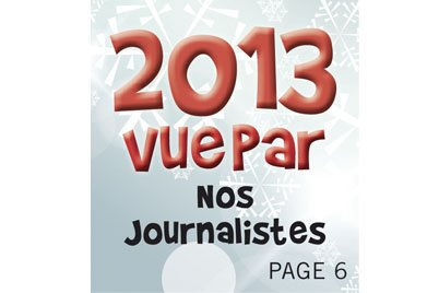 Invitée à faire une revue de l'année des événements qui nous ont...