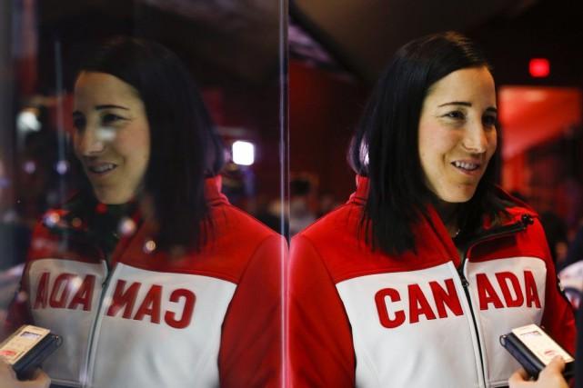 Pour la Montréalaise Caroline Ouellette, il s'agira de... (PHOTO archives LA PRESSE CANADIENNE)