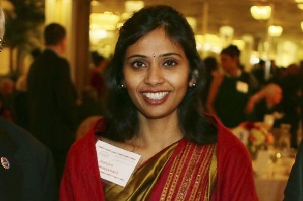 Devyani Khobragade, consule générale adjointe à New York,... (Photo Mohammed Jaffer, AP)