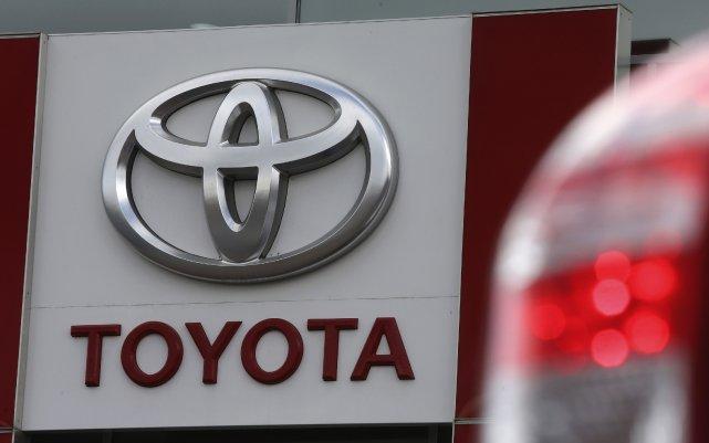 Le constructeur d'automobiles japonais Toyota est resté le numéro un mondial en... (Photo Alexander Demianchuk, archives Reuters)