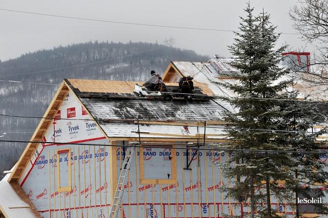 Le pour et le contre de b tir en hiver jean michel genois gagnon habitation - Taux humidite maison hiver ...