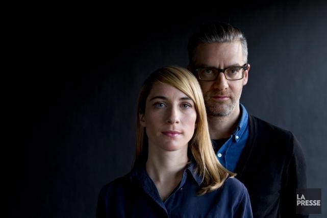 Sylvain Corbeil et Nancy Grant, producteurs de Metafilms.... (Photo: Alain Roberge, archives La Presse)