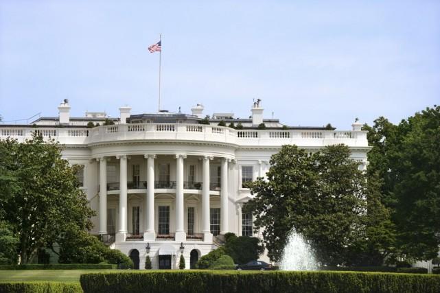 La Maison-Blanche... (Photo d'archives)