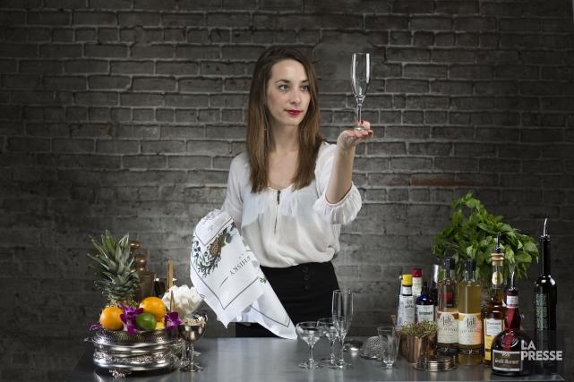 Gabrielle Panaccio a étudié la cuisine italienne à... (Photo Olivier Pontbriand, La Presse)