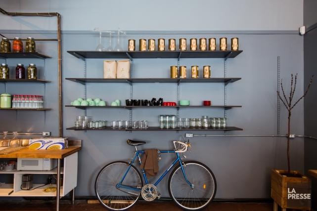 Le Café Replika.... (Photo Édouard Plante-Fréchette, La Presse)